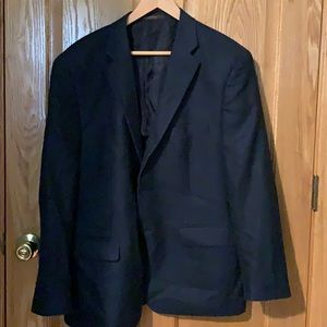 Men's blue blazer from Macy's